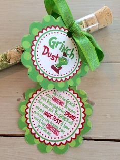 Grinch Dust for Kiddos on Christmas Eve by EllaJaneCrafts on Etsy