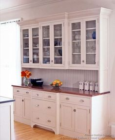 farmhouse kitchen cabinets | Cabinets | Farmhouse Kitchen Ideas - Old House
