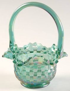 fenton baskets | Pattern: Fenton Baskets by FENTON CRYSTAL [FENFEB] Pattern #: FB