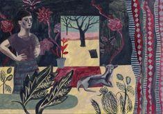 I'm a big fan of Sarah Raphael Balme's warm & slightly awkward paintings.More posted on the blog! http://www.artisticmoods.com/sarah-raphael-balme/
