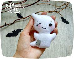Halloween Dekor Ghost Filz niedlich Ornament Dekor von MyMagicFelt