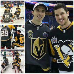 Okay okaaaaaaay. This is pretty freaking adorable. Blackhawks Hockey, Hockey Teams, Hockey Players, Ice Hockey, Hockey Puck, Pittsburgh Sports, Pittsburgh Penguins Hockey, Hockey Boards, Pens Hockey