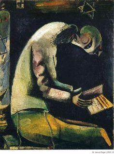 Jew at Prayer - Marc Chagall