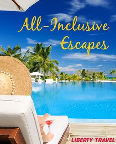 All-inclusive means it's all about you! Have a drink by the pool and don't bother taking your wallet out! Want to learn more about these beautiful all-inclusive resorts? Just click on the pin and start dreaming! To start planning give us a call (866) 601-1518 or click below for the resort collection and additional details.