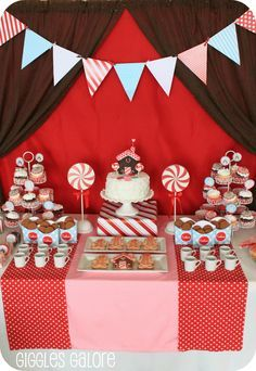 christmas sweet tables - Buscar con Google