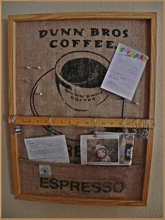 Looking for burlap sack uses? This is one of the most useful pieces of material to have on hand, here are 15 ideas for burlap sack uses to get you started. 20 Burlap Sack Uses Being a homesteader f… Burlap Projects, Burlap Crafts, Craft Projects, Diy Crafts, Burlap Art, Indoor Crafts, Dunn Brothers, Coffee Bean Sacks, Burlap