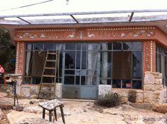 סדנא בכליל Mud House, Farm Projects, Pergola, Outdoor Structures, Home, Agriculture Projects, Outdoor Pergola, Ad Home, Homes