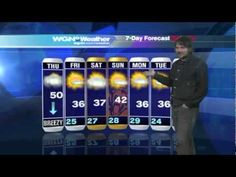 jeff tweedy of wilco does the weather report on wgn in chicago