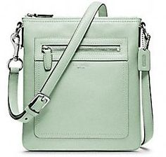 Legacy Leather swingpack by Coach... If only they had it in a cuter blue