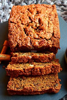 Whole Wheat Zucchini Pecan Bread/Desserts #healthymeals #zucchinirecipes…