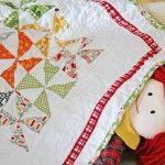 Pinwheel Baby Doll Quilt Pattern | AllCrafts.net Free Crafts Update Blog