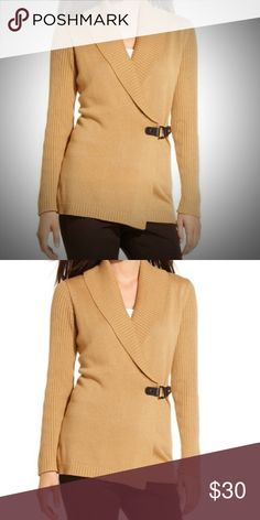 *GIFT* Tan Buckle Cardigan Sweater NWT $801X GIFT  MAKES AN A*M*A*Z*I*N*G GIFT   Charter Club Tan Buckle Sweater NWT $80 1X This feminine sweater features ribbed material on the sleeves and collar, buckle detail closure, and cardigan style. NWT $79.50 1X.  BUY 3 or More and Get 20% OFF! Charter Club Sweaters Cardigans