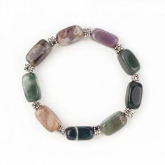 Here's a natural beauty that will elevate your style and aid in healing. IndianAgate is a great aid for balancing energy, and is healing and calming. The varie