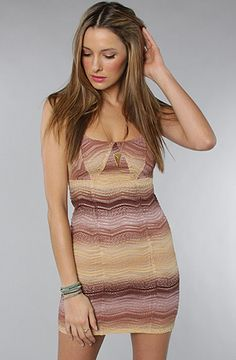 I love these colors. The All You Ever Wanted Bodycon Dress in Nude by Free People @karmaloop