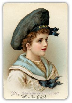 Vintage postcard with young sailor Éphémères Vintage, Images Vintage, Vintage Ephemera, Vintage Pictures, Vintage Cards, Vintage Paper, Vintage Postcards, Vintage Prints, Vintage Sailor