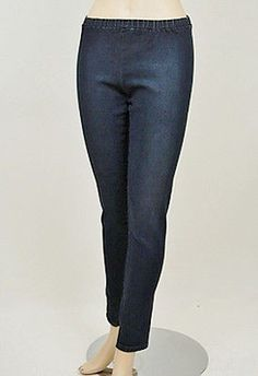 Degaine Jeans Womens Leggings Antique Dark Size M