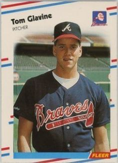 1988 Fleer Baseball Tom Glavine Rookie Card by Fleer. $0.99. 1988 Fleer Baseball #539 Tom Glavine Rookie Card. Near Mint to Mint condition. Comes in a plastic top loader for its protection.