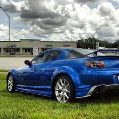 Beauty #RX8 // Gen2 MazdaSpeed3 rims.