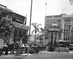 San Diego downtown 1960 by roberthuffstutter, via Flickr