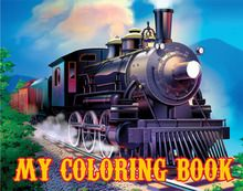 Clickety Clack Train Coloring Book Coloring Books Train Printed Candles
