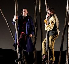 Alan and David in a stage adaptation of Stevenson's Kidnapped.