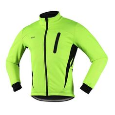 2017 Thermal Cycling Jacket Winter Warm Up Fleece Bicycle Clothing Windproof Waterproof Sports Coat