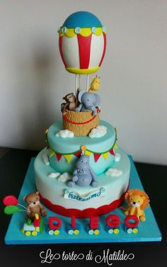 Baptism of Diego - Cake by Matilde