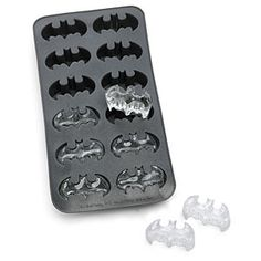 Batman ice cubes. definitely.