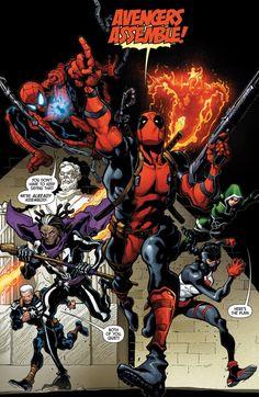 Uncanny Avengers #1 by Ryan Stegman *