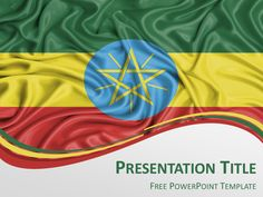 Free powerpoint template with flag of kenya background free powerpoint template with flag of ethiopia background toneelgroepblik Image collections