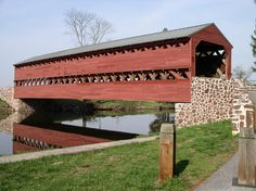 Sachs Bridge, Gettysburg, Pennsylvania: Following the battle of Gettysburg a hospital was located very near the bridge where many of the Confederate soldiers were left to die is believed to be the source of much of the paranormal activity at the site. Additionally 3 Confederates were hanged from the bridges rafters. There are numerous reports from those that live in close proximity to the site of screams, horses walking across the bridge, gun fire, cannon fire all with nothing there.