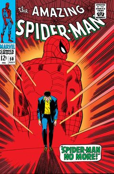 The Amazing Spider-Man #50 - July 1967 cover by John Romita Sr