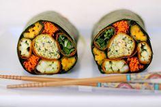 Colour Wheel Wraps http://www.rawfoodrecipes.com/recipes/colour-wheel-wraps.html