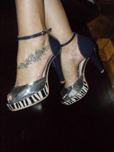 Criação Fashion: Meninas olha que encanto essa sandalia, vocês gost...