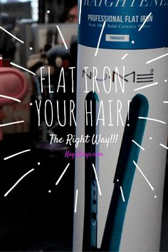 Flat Iron Your Hair Like a Boss!!! #naturalhair #relaxedhair #transitioninghair