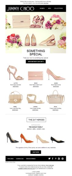 Jimmy Choo Newsletter | Treat Your Mum To Something Truly Special