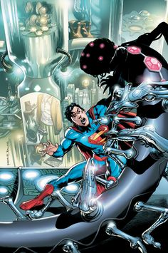 Action Comics #8    Written by GRANT MORRISON    Art by RAGS MORALES and RICK BRYANT