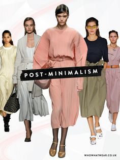 Spring summer 2017 fashion trends: Think of minimalism and then add in some colour, some texture and some excitment! Silhouettes and finishes are simple from Jil Sander, Stella McCartney and Bottega Veneta, but not boring.