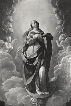 L'Assunzione della Vergine (part; A. Villani e Figli — Guido Reni (Bologna, 1575-1642).