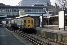 Denmark Hill Train Station Denmark Hill Camberwell South East London England on 10th March 1983
