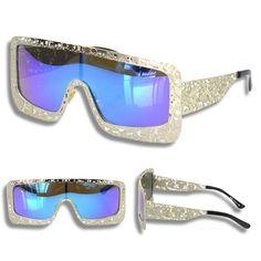 Oversized Vintage Framed Sunglasses
