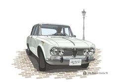 Alfa Romeo Giulia TI(Vector Illustration)