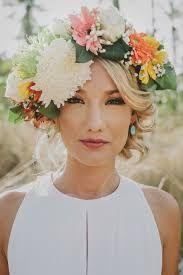 Résultats de recherche d'images pour «wedding flower crown tropical»