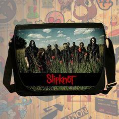NEW HOT!!! Slipknot Messenger Bag, Laptop Bag, School Bag, Sling Bag for Gifts & Fans #04