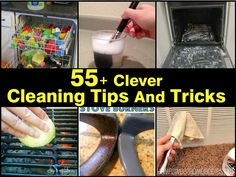 55-clever-cleaning-tips-and-tricks