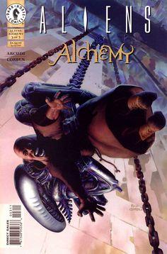 Aliens Alchemy #3 - Cover: Richard Corben