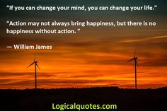 Inspirational William James Quotes - Logical Quotes