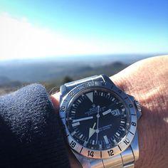 """Rolex Explorer 2 ref 1655 rail dial ..."""