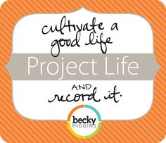 Mish Mash: Project Life Organization....My Work Space + Favor...