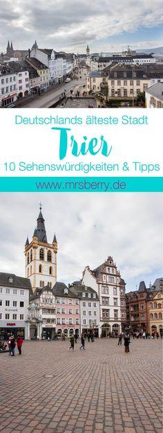 MrsBerry.de in Trier: 10 Sehenswürdigkeiten & Tipps für Deutschlands älteste Stadt auf http://mrsberry.de